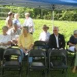 Guests at the Wagner marker dedication