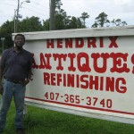 Walter Hendrix has owned this store for 45 years