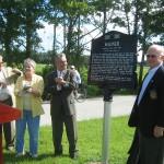 Far right, Winter Springs' Mayor John Bush, 2nd from left, Seminole County Commissioner, Michael McLean