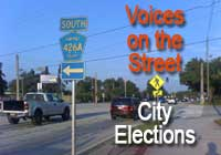 Voices on the Street – City Elections