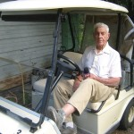 Thomas W. Chitty, last on-site living original property owner, Village of  Taintsville