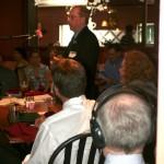 Panelist Steve Barnes during his remarks