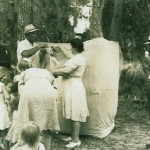 Church picnic, 1950's