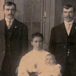 Mikler Family, Joseph, Katarina, Michael, Baby