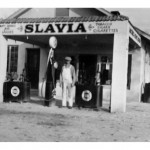 Stanko Store, gas pumps