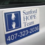 Sanford HOPE Team van logo (photo - CMF Public Media)