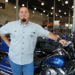 Geon Demauro of Seminole Harley-Davidson (photo - CMF Public Media)