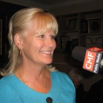 Candidate Cindy Drago (photo - CMF Public Media)