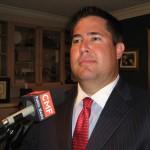 Candidate Robert Thrift (photo - CMF Public Media)