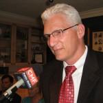 Candidate Matthew Schwartz (photo - CMF Public Media)