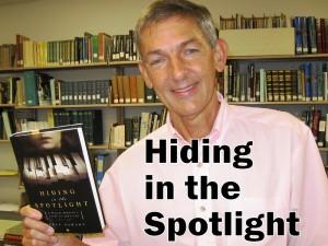 Hiding in the Spotlight title (photo & graphic - CMF Public Media)