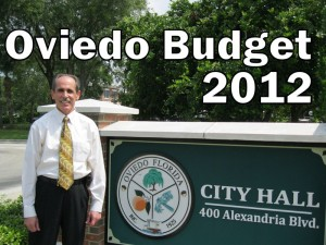 City of Oviedo Budget – 2012 (photo & graphic - CMF Public Media)