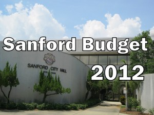 City of Sanford Budget – 2012 (photo & graphic - CMF Public Media)