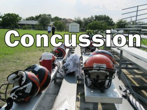 Concussion title (photo and graphic - CMF Public Media)