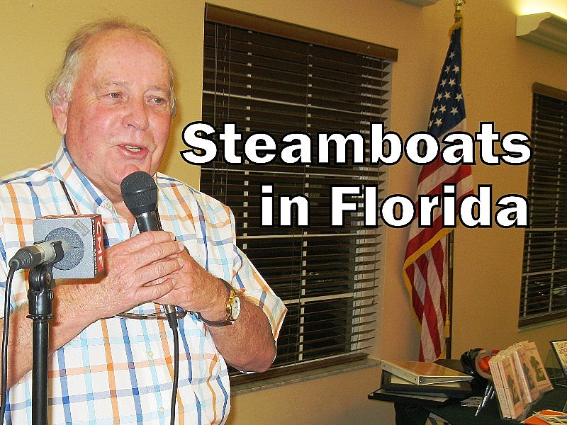 Steamboats in Florida with author and historian Ed L'Heureux (photo - CMF Public Media)
