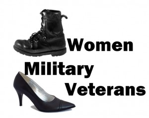 Women Military Veterans title