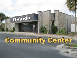 Oviedo Community Center title
