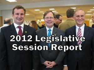 2012 Legislative Session Report