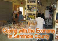 Coping with the Economy in Seminole County: Food Pantry
