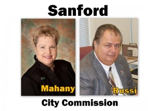 Sanford City Commission Elections (photos- City of Sanford & Rick Russi)