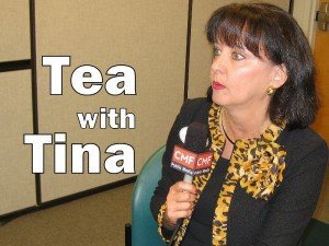 Tea with Tina (photo - CMF Public Media)
