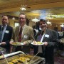 OCBA members at the buffet (photo - CMF Public Media)