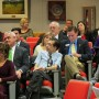 Audience members attending the 3-hour delegation meeting on Thursday, December 20, 2012 in the Chambers of the Seminole County Board of County Commission, in Sanford, Florida (photo - Charles E. Miller for CMF)
