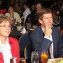 At left, moderator and Tiger Bay Club president, Claramargaret Groover seated with Mark O'Mara (photo - Charles E. Miller for CMF)