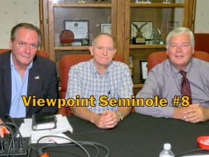 Viewpoint Seminole panel members from left Randy Morris, Dr. Mike Abels, and Russ Hauck (photo - Charles E. Miller for CMF)