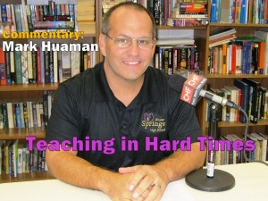 Commentary: Teaching in Hard Times -- Mark Huaman