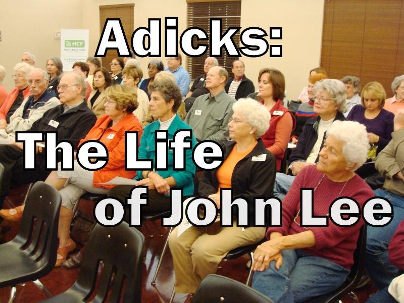 Adicks: The Life of John Lee