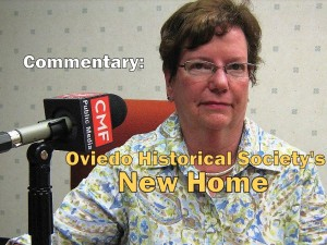 Commentary: Oviedo Historical Society's New Home