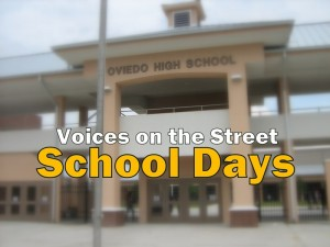 Voices on the Street: School Days